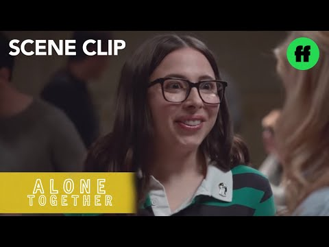 Alone Together | Season 2, Episode 8: Benji and Esther Try to Mingle at Their New Gig | Freeform
