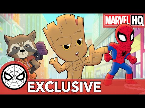 Spidey, Rocket & Groot Get Duped! | Marvel Super Hero Adventures - The Claws of Life | SHORT
