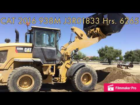CATERPILLAR RADLADER/INDUSTRIE-RADLADER 938M equipment video YyTunVvzGSk
