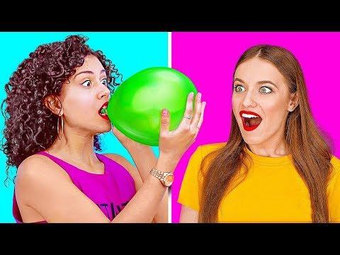 TRIK dan PRANK Seru Menggunakan BALON || Trik Balon dan DIY Prank Keren yang Harus Kamu Coba