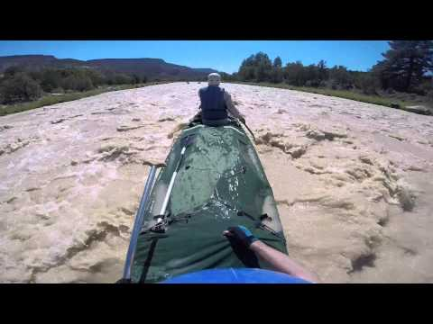 Canoeing the Rio Chama River New Mexico