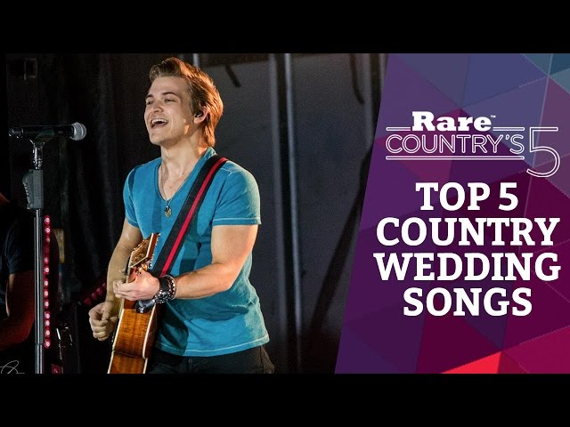 Top 5 Country Wedding Songs Rare Countrys 5