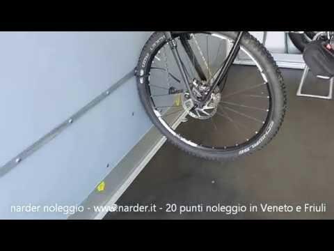 Rimorchio Portabiciclette patente B a noleggio