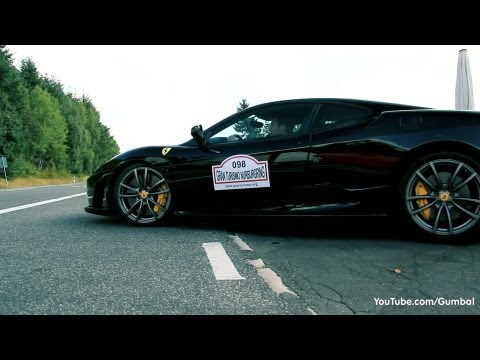 scuderia - In this video you can see a black Ferrari 430 Scuderia that I hve recorded at the famous gasstation near the Nurburgring. As you can see, this Scuderia is on...
