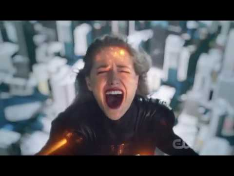 crisis on earth X DCs Legends of Tomorrow S03E08 final fight evil kara and oliver die