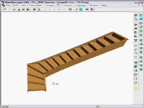 stairdesigner change a straight stair to a quart turn design part 1