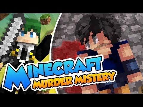 ¡Bugeado frente al asesino! - Minecraft minijuegos (Murder Mistery) con @Naishys