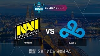 Navi.G2A vs Cloud9 - ESL One Cologne 2017 - map1 - de_mirage [ceh9, Enkanis]