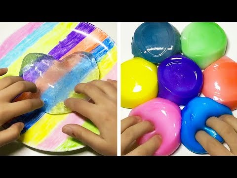 The Most Satisfying Slime ASMR Videos  Relaxing Oddly Satisfying Slime 2019  107