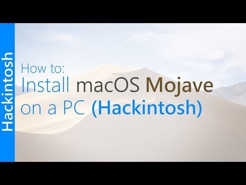 [GUIDE] Install macOS 10.14 Mojave on a PC (Hackintosh)