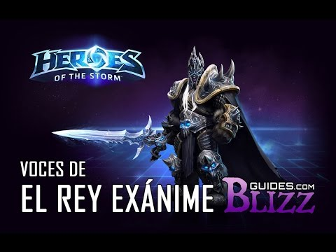 Heroes of the Storm - Voces del Rey Exánime - Guerrero Warcraft