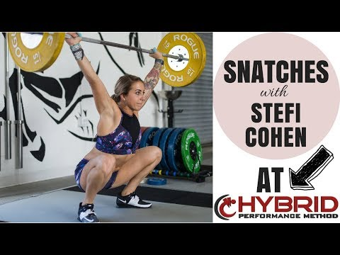 Snatching with STEFI COHEN! Snatch Technique: Warmups, Common Mistakes & Fixes.