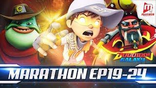 Video BoBoiBoy Galaxy Marathon - EPISOD 19 - 24 MP3, 3GP, MP4, WEBM, AVI, FLV Maret 2019