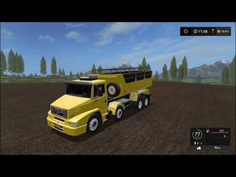 Mercedes Benz 1620 Dump Truck v1.0