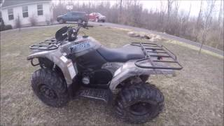 6. My New Yamaha Kodiak 400 4x4