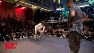 Harry Popper vs Creesto 1ST ROUND BATTLES Popping Forever - Summer Dance Forever 2016
