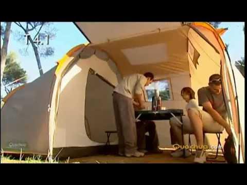 Videz šotora Quechua T4.1 b