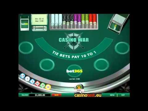 Casino War Video