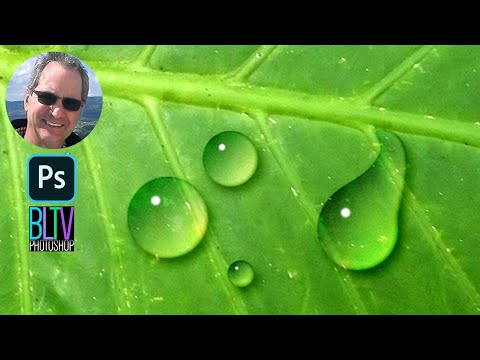 photoshop - Photoshop CC tutorial showing how to make realistic-looking water drops. This is an updated version of a tutorial I did in 2011. Leaf sample 1: http://db.tt/...