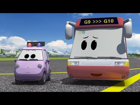Airplanes for Kids – The Airport Diary – Kids visit Fluffy airport! (cartoon 25)