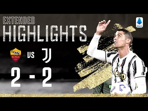 Roma 2-2 Juventus   Two Ronaldo Goals as Juventus Come back Twice!   EXTENDED Highlights