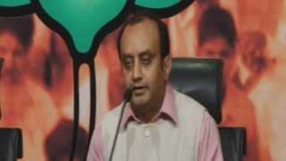 LIVE ::BJP Press on Petrol Price & UPA bad economic policy:  Dr. Sudhanshu Trivedi: 18.06.2013