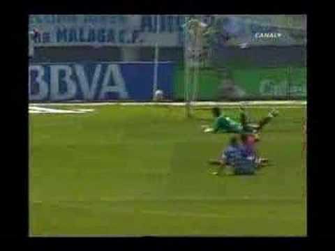 Málaga 3 - 2 Sporting de Gijon (Segunda División 2007 - 08)