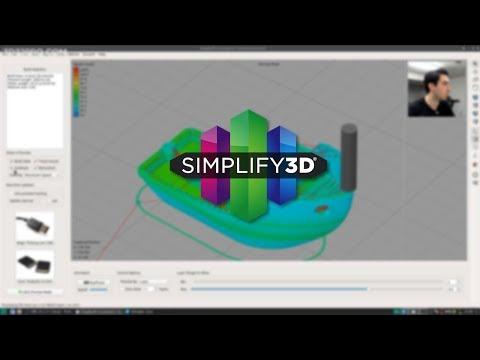 Présentation de Simplify3D - (Meilleur que Cura ?)