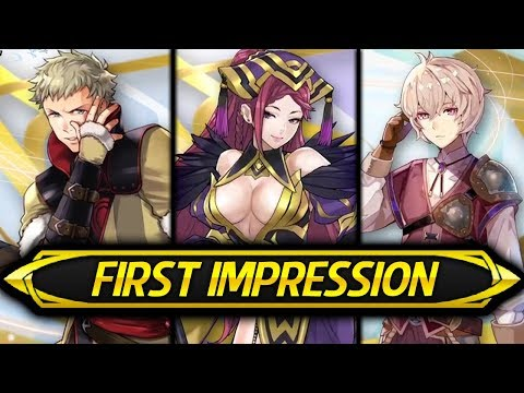 Fire Emblem Heroes - First Impression & Stat Speculation: Loki, Owain & Kliff! (Brave Redux)
