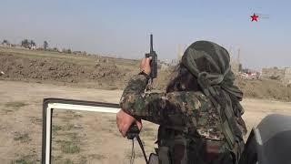 اشتباكات عنيفة بين مقاتلات قوات سوريا الديمقراطية وفلول داعش
