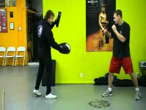 JKD Training with Equipment (Part 3)