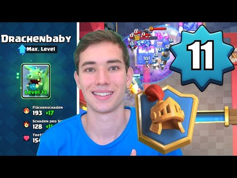 FREE2PLAY IN DEN TOP 1000! 🇩🇪 | Über 6000 Trophäen Mit Level 11 | Clash Royale Deutsch