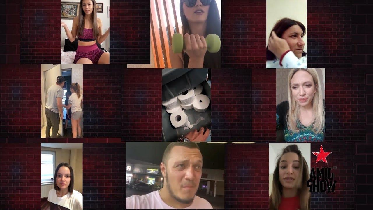 Ami G Show – Gosti: Milica Todorović, Milica Pavlović, Slavica Ćukteraš (07. 04.) – video