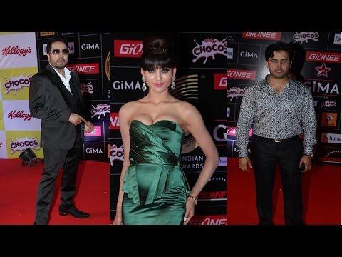 Mika Singh, Akshara Haasan & Other Celebs At Red Carpet Of Gima Awards