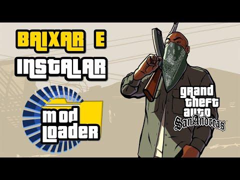 GTA SA   Como baixar e instalar Mod Loader   2016