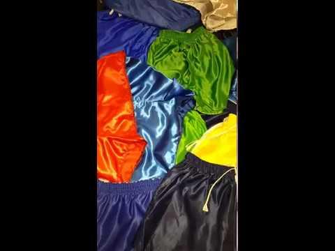 Umbro Satin 100% nylon football shorts