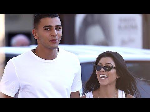 Kourtney Kardashian Vacations With Younes Bendjima While Scott Disick Parties in Miami