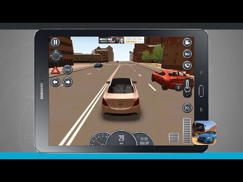 Driving School Android Tablet App Demo
