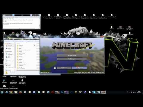 [Minecraft] Wie installiere ich die Shader Mod für Minecraft 1.7.4/1.7.5 - [GERMAN /HD] (видео)