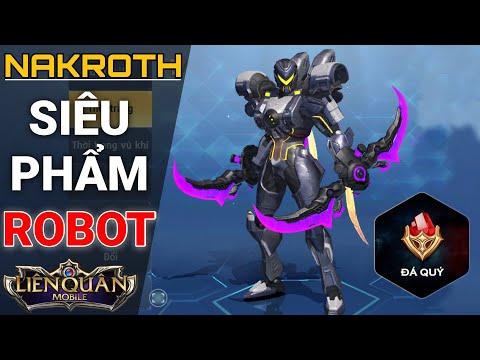 Liên Quân Phiên Bản 2 - Trải Nghiệm Nakroth Robot Siêu Ngầu - Liên Minh Sinh Tồn Survival Heroes - Thời lượng: 17:20.
