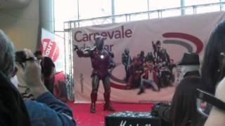 iron man mark 6 peschiera borromea centro commerciale galleria borromea mps show carnevale da star