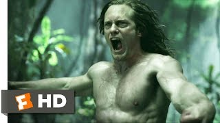 Nonton The Legend of Tarzan (2016) - Battle with Akut Scene (4/9) | Movieclips Film Subtitle Indonesia Streaming Movie Download