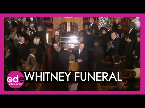 Whitney Houston's funeral ends to I Will Always Love You Video