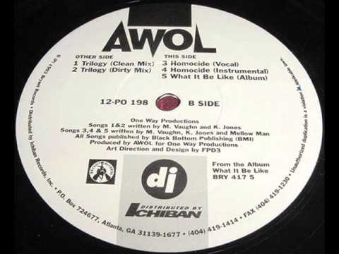 A.W.O.L. / What It Be Like (1993) -Vinyl Rip-