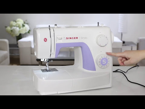 SINGER® SIMPLE™ 3232 Sewing Machine - Owner's Class - Play All