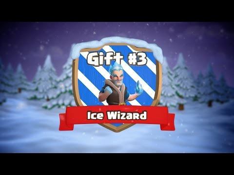 gratis download video - Clash-of-Clans--Ice-Wizard-Clashmas-Gift-3