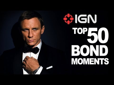bond - Join IGN as we count down the top 50 Bond moments, from Dr. No right through to Skyfall. All in 007 minutes. Subscribe to IGN for the latest gaming and movie...