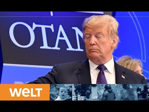 NATO genervt: Trump droht mit Alleingang in Verteidig ...
