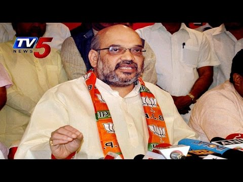 BJP Chief Amit Shah Unveils BJPs New Team With 11 Members: TV5 News