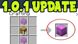 MCPE 1.0.1 UPDATE! Minecraft Pocket Edition 1.0.1 Update RELEASE FEATURE FIXES (MCPE 1.0.1 UPDATE)